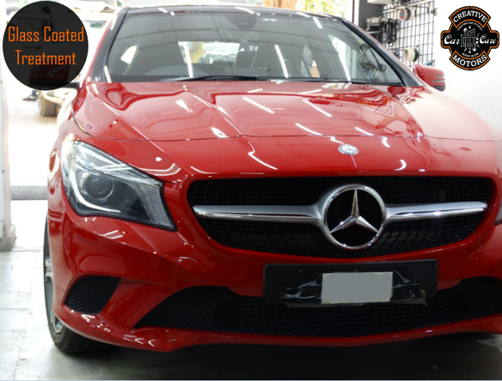 Another beast on the road given the Ultimate Touch of Glass Coated Treatment.Get a high class protection for your paint, plastics, metal and more at the best detailers in town.   Tel/Whatsapp : +91-99099 99135 or 079 26421200  Add :- 1&2, Ground Floor. Urvashi Complex, Mithakhali Cross roads, Navrangpura, Ahmedabad, India 380009