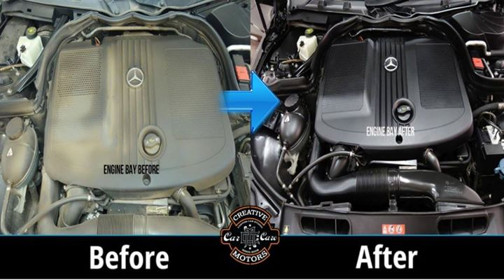 Our #EngineCoating Treatment is designed to provide a high gloss and slippery coating on to the engine parts, hoses etc.   Excellent resistance to: Petrol/Diesel Engine Oil High Pressure water Road grime Avoids corrosion Can be washed easily Does not blister, crack, peel or yellow.  Tel/Whatsapp : +91-99099 99135 or 079 26421200  Add :- 1&2, Ground Floor. Urvashi Complex, Mithakhali Cross roads, Navrangpura, Ahmedabad, India 380009