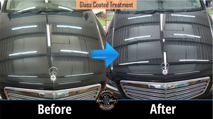 All new cars need an effective paint protection to stay charming for a long long time. Our Before After pics does all the talking.   Want to weave this magic on your car?  Please feel free to contact us as follow :  Tel/Whatsapp : +91-99099 99135 or 079 26421200  Add :- 1&2, Ground Floor. Urvashi Complex, Mithakhali Cross roads, Navrangpura, Ahmedabad, India 380009