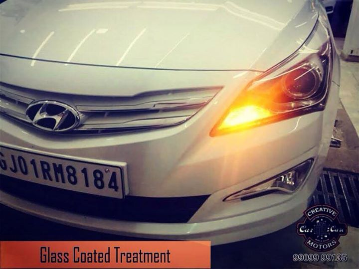 Get a Premium Glass Coated Treatment at attractive prices! We are the LEADING name in premium paint protection for car and bikes in #Gujarat.  Get in touch with us today and give your car that shine it deserves.  Tel/Whatsapp : +91-99099 99135 or 079 26421200  Add :- 1&2, Ground Floor. Urvashi Complex, Mithakhali Cross roads, Navrangpura, Ahmedabad, India 380009