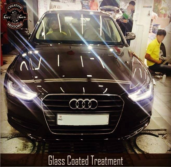 Our Glass Coated Treatment have high resistance to oil. This feature beats other #glass #coating products that cannot do this feature.  Get the real deal - offered by LIMITED detailers ALL OVER THE #WORLD, now offered in #India For #Gujarat - ONLY 'Creative Motors'  Tel/Whatsapp : +91-99099 99135 or 079 26421200  Add :- 1&2, Ground Floor. Urvashi Complex, Mithakhali Cross roads, Navrangpura, Ahmedabad, India 380009