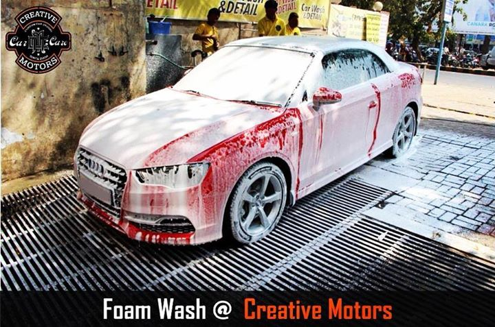 Come get your #car washed!!! We do it right. Our team is committed to making your car #sparkle. Ride in style, keep the dirt off by coming to 'Creative Motors'...  Tel/Whatsapp : +91-99099 99135 or 079 26421200  Add :- 1&2, Ground Floor. Urvashi Complex, Mithakhali Cross roads, Navrangpura, Ahmedabad, India 380009