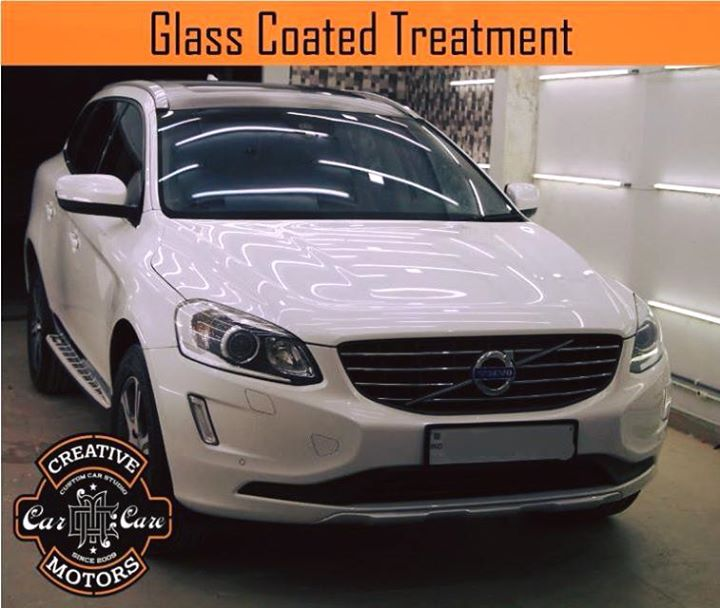 Creative Motors,  car, Glass, Coated, Treatment, creativemotors, ahmedabad, caraccessories, cardetailing, carspa, microdetailing, GlassCoatedTreatment, glasscoated, carfoamwash, foamwash