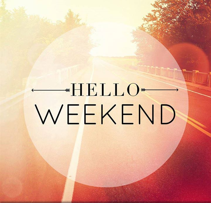 Favourite days of the week are here!  #HappyWeekend