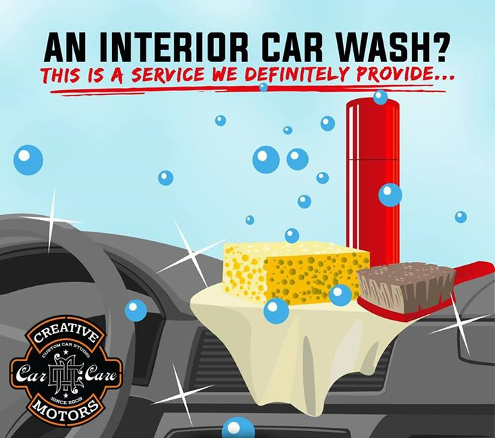 Does your vehicle need a Spa Day? Come get a Full Interior Detail 'Creative Motors'...  Tel/Whatsapp : +91-99099 99135 or 079 26421200  Add :- 1&2, Ground Floor. Urvashi Complex, Mithakhali Cross roads, Navrangpura, Ahmedabad, India 380009