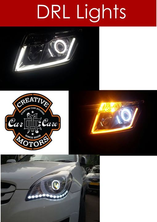 Creative Motors,  DRL, Lights..., creativemotors, caraccessories, cardetailing, carspa, microdetailing, GlassCoatedTreatment, glasscoated, carfoamwash, foamwash