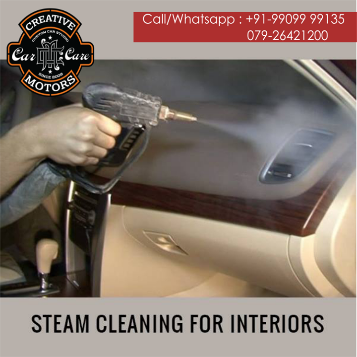 Creative Motors,  interiors, steamcleaning