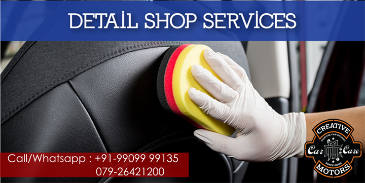 Dirty / Stinky interior? No problem!  A little glance at our #InteriorDetailing,The inside of your vehicle matters as much as the outside. Interior detail for clean, dust free interiors and healthy travelling. Even the smallest of details are meticulously and well cleaned. That's what we do!   Drop your car for clean up your #ride at  🚙 'Creative Motors' 🚙   ☎️ SMS/Whatsapp : +91-99099 99135 or 079 26421200  📷 Instagram : creativemotors  ✉️ Address : 1&2, Ground Floor. Urvashi Complex, Mithakhali Cross roads, Navrangpura, Ahmedabad, India 380009