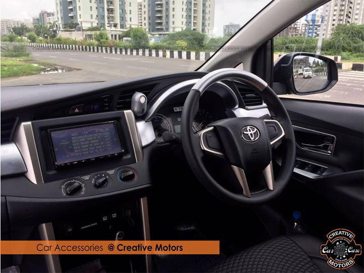 'Creative Motors' - #Ahmedabad super store for car accessories.  Raise eyebrows of crowd with stunning Car Accessories ... Make your car your fashion accessories ...Customise your ride's look,Get Best Deals On Wide Range of Car Accessories 'Creative Motors'   ☎️ SMS/Whatsapp : +91-99099 99135 or 079 26421200 ✉️ Address : 1&2, Ground Floor. Urvashi Complex, Mithakhali Cross roads, Navrangpura, Ahmedabad, India 380009