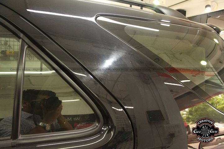 Before - After Pics of Fortuner   Ceramic Glass Coated   Price - 17500rs
