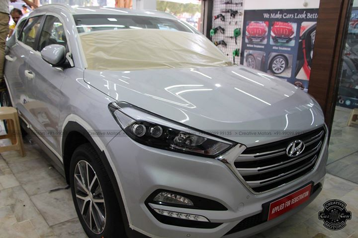 Hyundai Tucson Got Treated