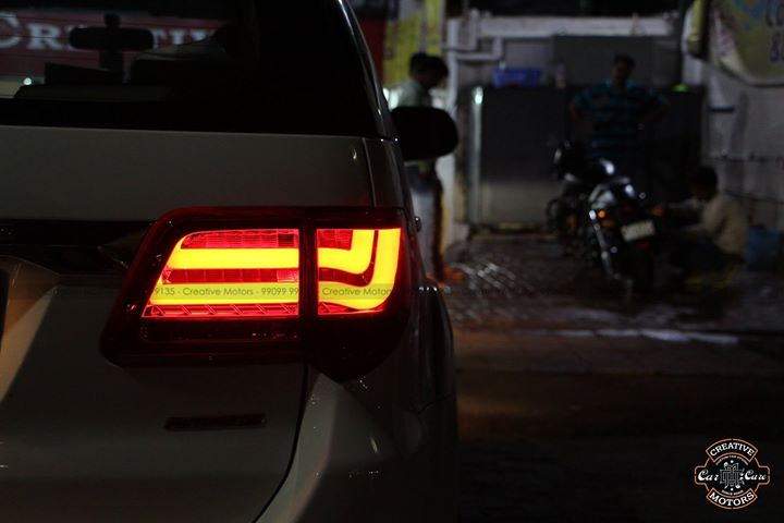 Led Tail Lights upgraded   Get your Car upgraded with the New LED Tail Lights  *Made in Taiwan  #creativemotors #led #ledlamps #ledtaillights #projectorlights #caraccessories #accesories #cruze #city #hondacity #swift #honda #marutisuzuki #baleno #creta #fortuner