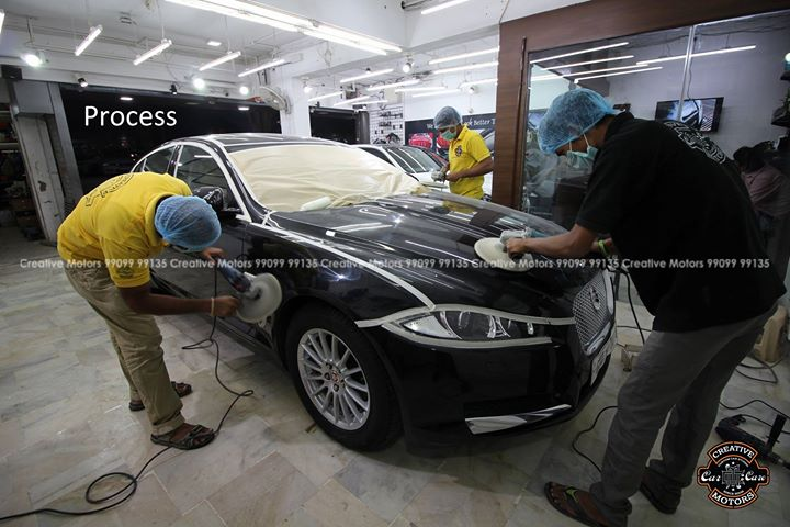 Jaguar XF Detail Complete  #creativemotors #cardetailing #ceramiccoating #glasscoating #paintprotection #Qualityovereverything #CGRoad #Ahmedabad