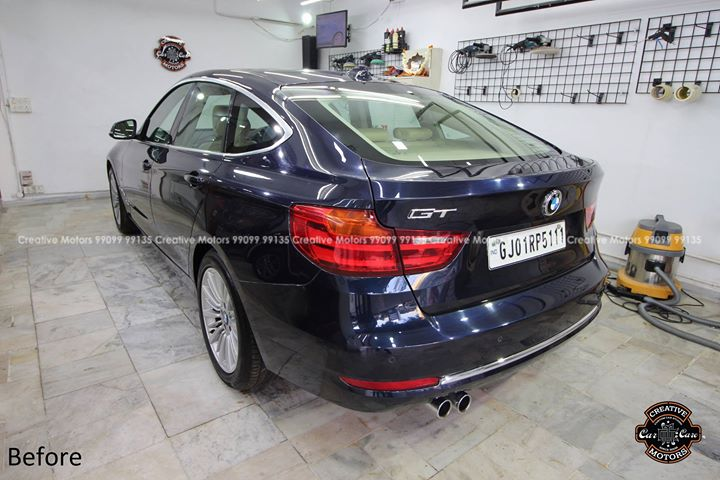 BMW GT Detail Complete  Diamond Coat - 45000rs  #creativemotors #cardetailing #ceramiccoating #glasscoating #paintprotection #Qualityovereverything #CGRoad #Ahmedabad #BmwGT #India