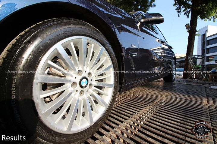 Reflection Shots of BMW GT  Diamond Coat - 45000rs  Creative Motors - CG Road - Ahmedabad 99099 99134