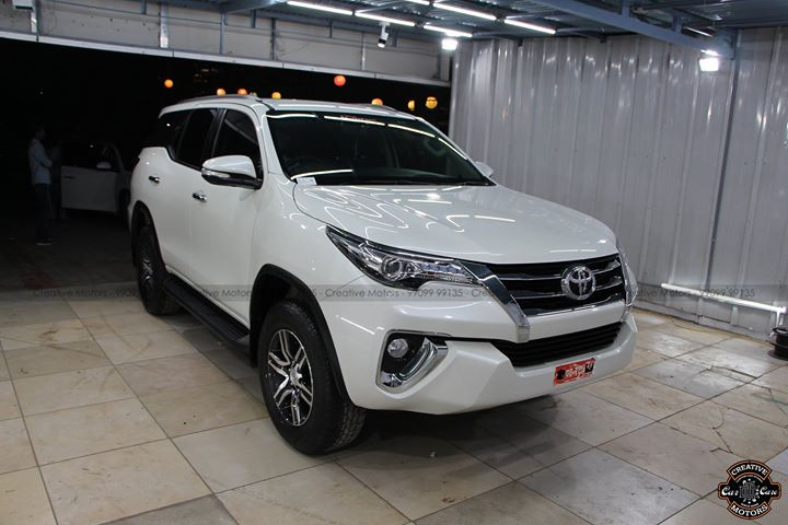 Creative Motors,  Toyota, Fortuner, ahmedabad, like4like, share, instalike, glasscoating, ceramiccoating