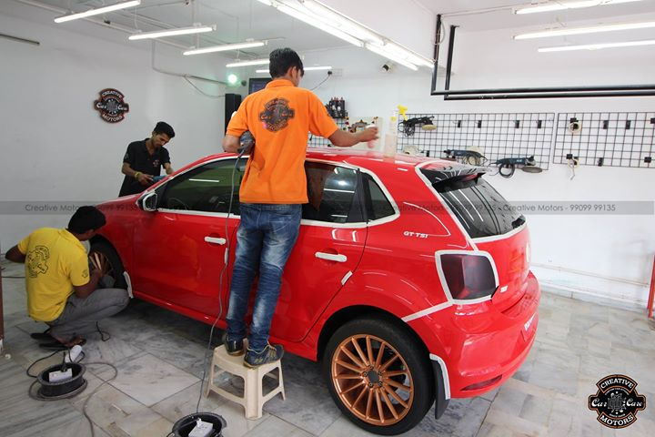 Creative Motors,  cardetailing, highendcardetailing, ahmedabad, ceramiccoating, glasscoating, Original, Permanent, protection, India, Super, PoloGT, worldno1, superhydrophobic, proud, proudmoments