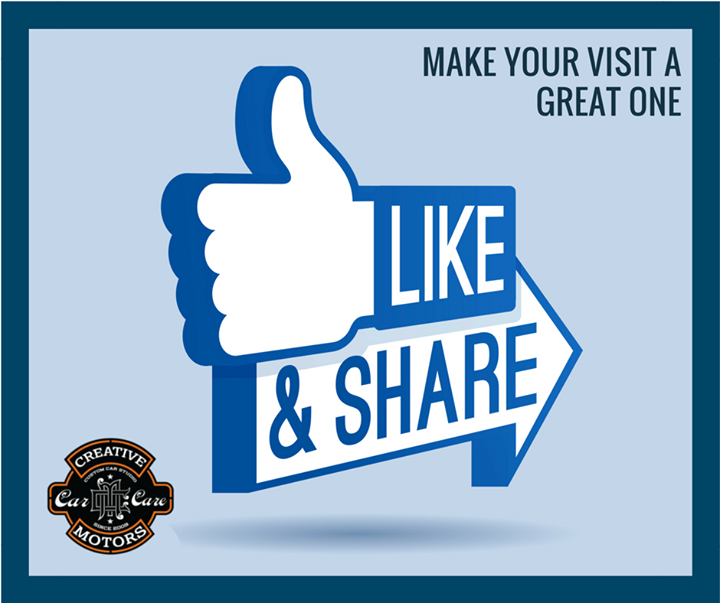 "Great customer service is something we strive for at Creative Motors Ahmedabad. Every day our passionate, dedicated and talented employees process thousands of vehicles, all while making sure your visit is a great one.   Give us a ""#Like"" or shout out on our Facebook page if you think we are doing a great job!"