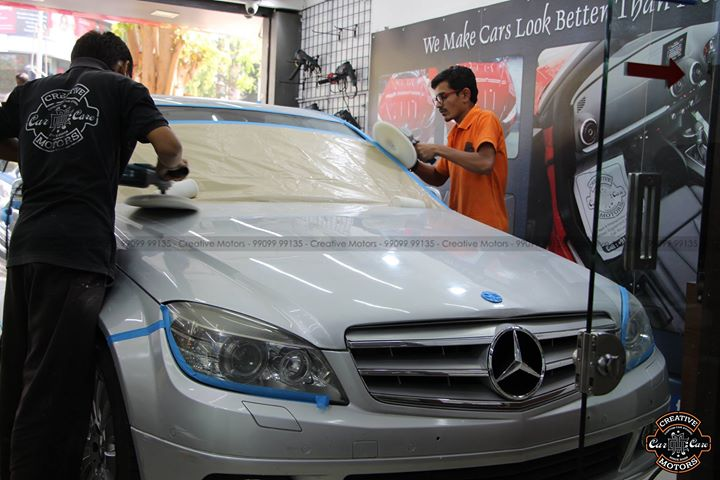 Creative Motors,  cardetailing, highendcardetailing, ahmedabad, ceramiccoating, glasscoating, Original, Permanent, protection, India, Super, worldno1, superhydrophobic, proud, proudmoments, Mercedes, Ahmedabad, Qualityovereverything