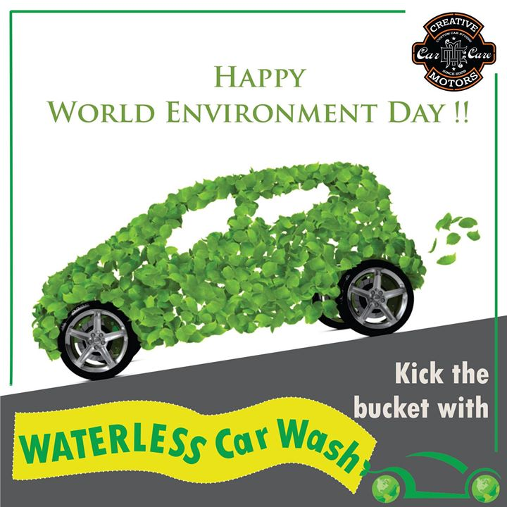 Lets keep our Environment Safe ! Waterless wash for your car only for Rs 350. -Any Car -Pre Book your appointment on 9909999135 -Terms & Conditions apply