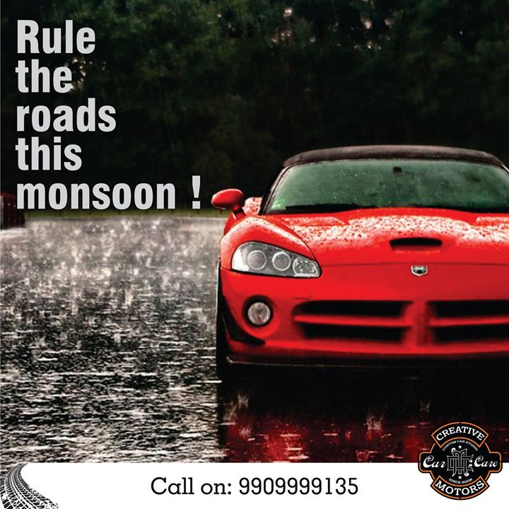 Nothing can stop you during monsoon when you have protected your car with CERAMIC COATING !! If you havent done that yet ! Contact us today ! Pre book appointments on 9909999135