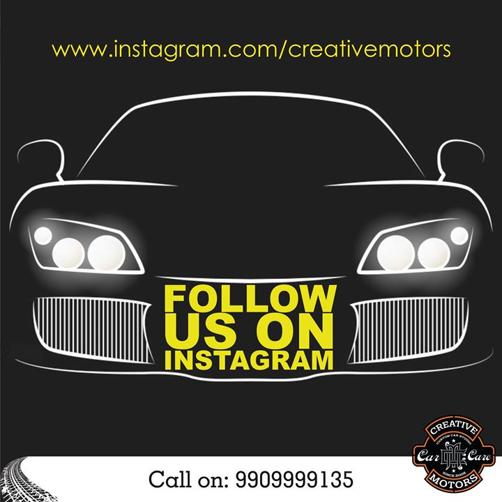 Reaching out to all our loyal customers !! For latest updates and offers follow us on instagram as well Link here>> www.instagram.com/creativemotors