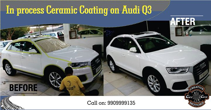 Ceramic Process is taking up its gear really well all over india now! But it needs professionals to do it the right way so its in turn a value for money for the customers as well.  Our professionals give you the right service at the right cost ! Book your appointments today ! on 9909999135  Follow us on instagram :www.instagram.com/creativemotors #ahmedabad #cars #bikes #mercedez #toyota #bmw #bmwi8 #india #unitedstatesofamerica #australia #rajkot #rajkotsuperbikers #bikers #motor #speed #ceramiccoating #ceramic #coating #offers #creative #cars #automotion #automobile #monsoon #rains #june #boys #man #machine #machinegunkelly #machinegunky
