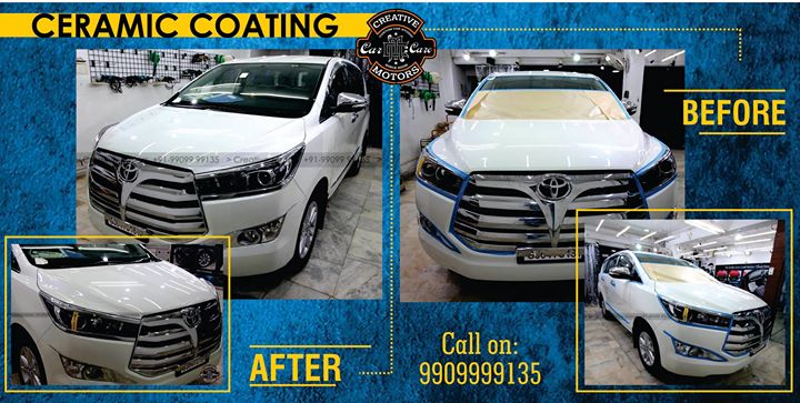 Ceramic Coating Protect is a revolutionary surface protection. Well cared car paint is a flagship for every driver. However, not only new cars may catch an eye with their rich colours and a flawless glow. Such effect may be achieved also in used cars, gaining a high quality protection of the paint structure at the same time.  An