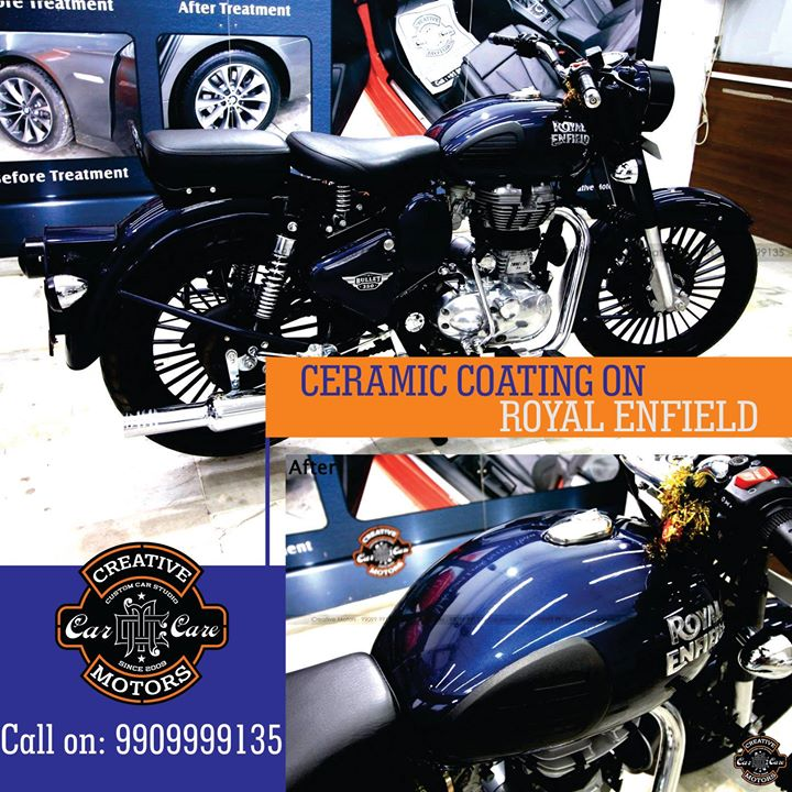 Royal Enfield got a transformational Ceramic Coat at