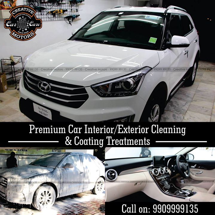 Get the #Best #quality #interior and #exterior #carcare #treatments at Creative Motors We strive to provide #valueformoney #services   Our word of assurance :  ♦️100% Original & Patented Product from 'Creative Motors' ♦️Cost-Effective Solution ♦️Easy to Maintain  ♦️Strong After-Sale Support & Free Advice ♦️Save time, Effort and Money  Call or Whatsapp : +91 99099 99135  Follow us on instagram: www.instagram.com/creativemotors  Add :- 1&2, Ground Floor. Urvashi Complex, Mithakhali Cross roads, Navrangpura, Ahmedabad, India 380009  #creativemotors #cardetailing #ahmedabad #carwashanddetailing  #carspa #microdetailing #GlassCoatedTreatment #glasscoated #carfoamwash #foamwash #ceramiccoatings #coatings  #glasscoatings #waterrepellant #scratchproof #ahmedabad #interiorcleaning #interior #geniuneleather #exteriorcleaning