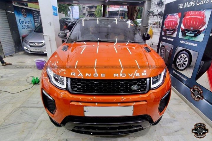 Creative Motors - Best in Class Coating Services  Call or Whats App - 9909999135  #creativemotors #carspa #highendcardetailing #ahmedabad #rangerover #ahmedabad #rajkot #Qualityovereverything