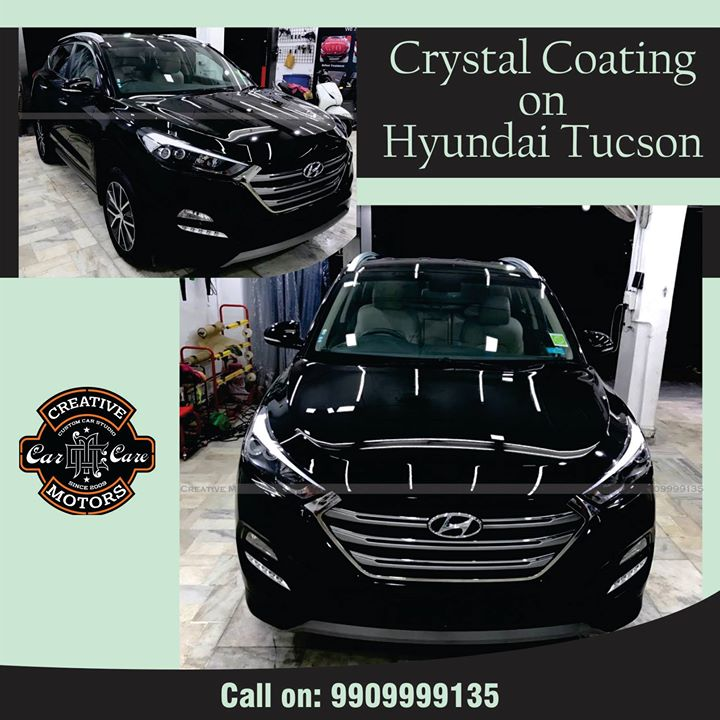 Check out this Hyundai Tucson protected with