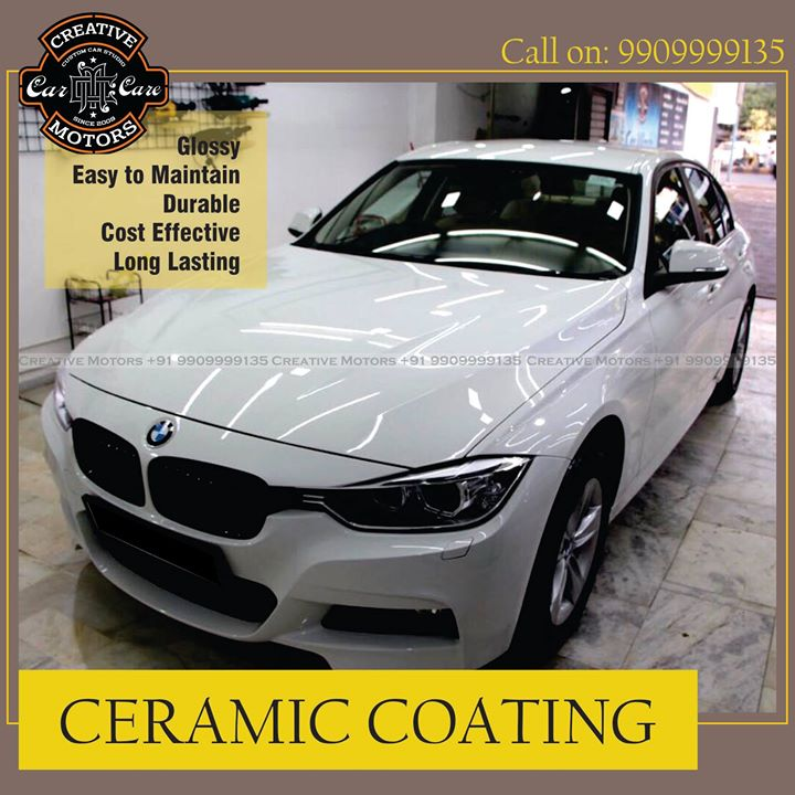 Ceramic Coat Done on BMW at