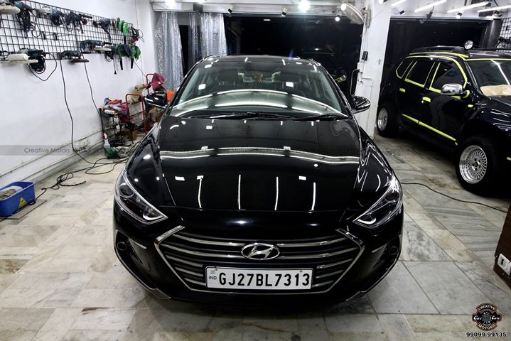 #Hyundai #Elantra  got the #Best #Ceramic Treatment at ''#Creative #Motors''  Check all the Pictures - Before - Process - After  #Ceramic Coat #Benefits: ♦Gives Additional Gloss/Shine ♦Protects Paint from Fading ♦No Ageing Effect ♦Removes Hairline Scratches & Water-spots ♦Water & Dust Repellent  ♦Easy to Clean & Maintain ♦No need to Wax and Polish again ♦Scratch Resistant upto 9H Hardness ♦3 Year Protection in 3 hours  Call or Whatsapp : +91 99099 99135  Follow us on Instagram: www.instagram.com/creativemotors  Add :- 1&2, Ground Floor. Urvashi Complex, Mithakhali Cross roads, Navrangpura, Ahmedabad, India 380009  #creativemotors #bikes #bikers #Cars #carspa #microdetailing #ceramiccoatings #coatings  #glasscoatings #waterrepellant #scratchproof #minicooper #supercars #Rajkot #ahmedabad #Jeep #compass #qualityovereverything