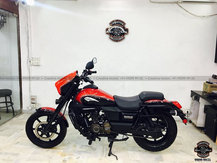 #Best in Class #Ceramic Coating Services at ''#Creative #Motors''  #UM #Commando #Bike  #Ceramic Coat #Benefits: ♦Gives Additional Gloss/Shine ♦Protects Paint from Fading ♦No Ageing Effect ♦Removes Hairline Scratches & Water-spots ♦Water & Dust Repellent  ♦Easy to Clean & Maintain ♦No need to Wax and Polish again ♦Scratch Resistant upto 9H Hardness ♦3 Year Protection in 3 hours  Call or Whatsapp : +91 99099 99135  Follow us on Instagram: www.instagram.com/creativemotors  #creativemotors #bikes #bikers #Cars #carspa #microdetailing #ceramiccoatings #coatings  #glasscoatings #waterrepellant #scratchproof #minicooper #supercars #Rajkot #ahmedabad #qualityovereverything