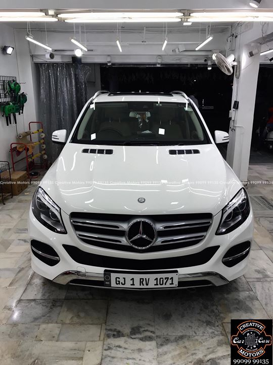 #Mercedes #GLE350d  got the #Best #Ceramic Treatment at ''#Creative #Motors''    #Ceramic Coat #Benefits:    ♦Gives Additional Gloss/Shine  ♦Protects Paint from Fading  ♦No Ageing Effect  ♦Removes Hairline Scratches & Water-spots ♦Water & Dust Repellent   ♦Easy to Clean & Maintain  ♦No need to Wax and Polish again  ♦Scratch Resistant upto 9H Hardness  ♦3 Year  Protection in 3 hours    Call or Whatsapp : +91 99099 99135    Follow us on instagram: www.instagram.com/creativemotors    Add:  Creative Motors Ahmedabad     GF 1,2 Urvashi Complex,  Nr. Calcutta Motors, Mithakhali Six Roads, Law Garden Road, Navrangpura, Ahmedabad       9909999135   #creativemotors #bikes #bikers #Cars #carspa #microdetailing #ceramiccoatings #coatings  #glasscoatings #waterrepellant #scratchproof #minicooper #supercars #Rajkot #ahmedabad #Mercedes #Gle #qualityovereverything