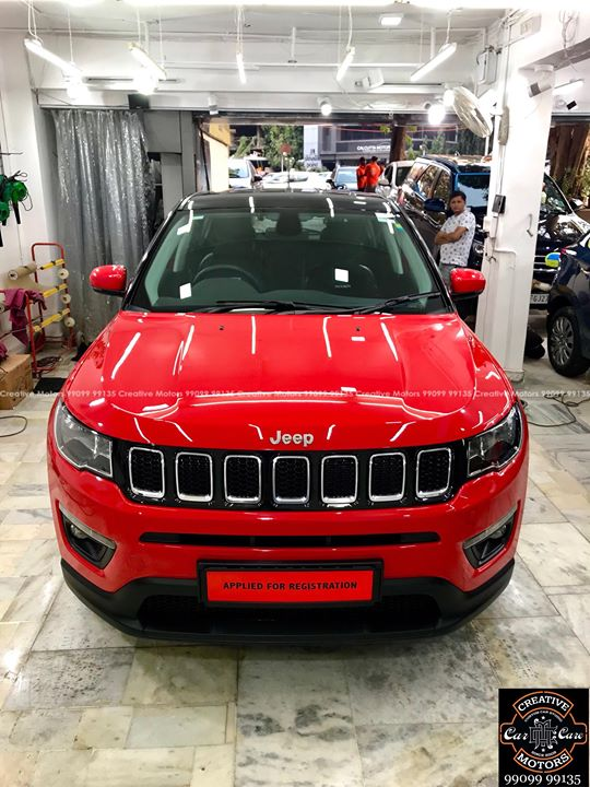 Creative Motors,  JEEP, COMPASS, Red, Best, Ceramic, Creative, Motors'', Ceramic, Benefits:, creativemotors, bikes, bikers, Cars, carspa, microdetailing, ceramiccoatings, coatings, glasscoatings, waterrepellant, scratchproof, minicooper, supercars, Rajkot, ahmedabad, Jeep, compass, qualityovereverything
