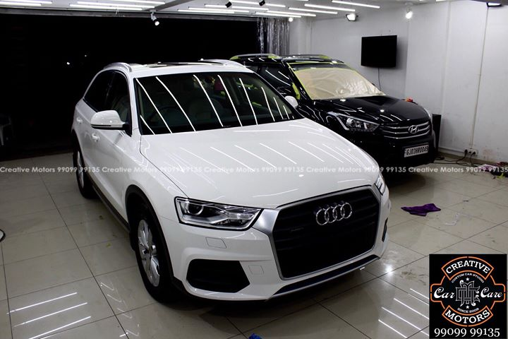 Creative Motors,  Audi, Q3, Best, Ceramic, Creative, Motors'', Ceramic, Benefits:, creativemotors, Cars, carspa, microdetailing, ceramiccoatings, coatings, glasscoatings, waterrepellant, scratchproof, supercars, Rajkot, ahmedabad, Proudcomments, like4like, qualityovereverything