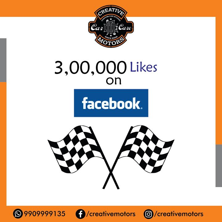 3 Lakhs and Counting !! Many more Milestones to achieve... Thanks to our loyal clients for showing utmost faith in our services, that we promise to keep giving always !!  #Ahmedabad # Rajkot #Cardetailing #CarCare #CeramicCoating #Automobilecare #Detailingservices #BestInAhmedabad #India #Likes #Milestones