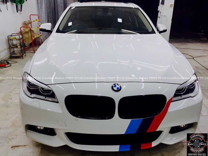 Creative Motors,  Bmw, Benefits:, creativemotors, microdetailing, ceramiccoatings, coatings, glasscoatings, waterrepellant, scratchproof, supercars, Rajkot, ahmedabad, qualityovereverything, bmw, 5series
