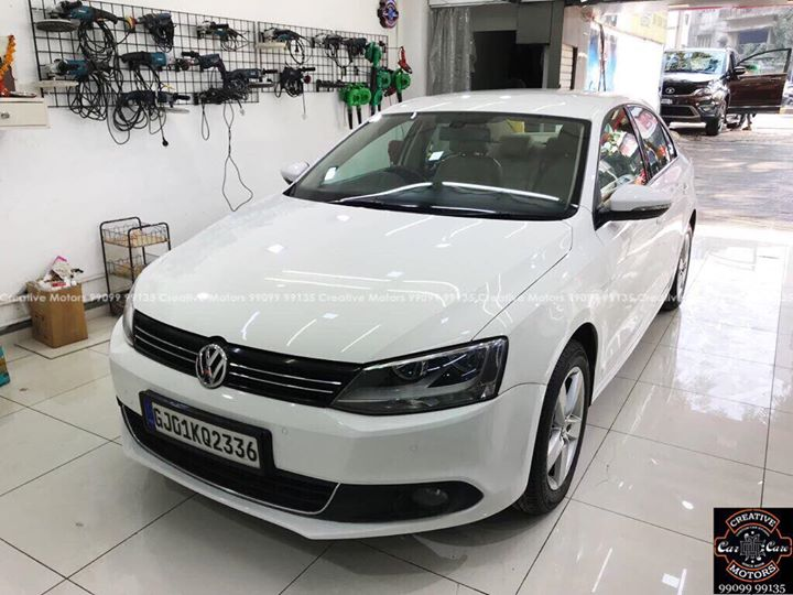 #Volkswagon #Jetta Got Ceramic Coating   #Benefits:  - Scratch Resistant  - Easy to Clean & Maintain  - High Glossy Shine  - Highly Durable   Address:  Creative Motors Ahmedabad    GF 1,2 Urvashi Complex,   Nr. Pantaloons (CG Road) Mithakhali Six Roads,  Law Garden Road,  Navrangpura,  Ahmedabad          Call- 9909999135   #creativemotors #bikes #bikers  #microdetailing #ceramiccoatings #coatings  #glasscoatings #waterrepellant #scratchproof #supercars #Rajkot #ahmedabad #qualityovereverything #Volkswagon #Jetta