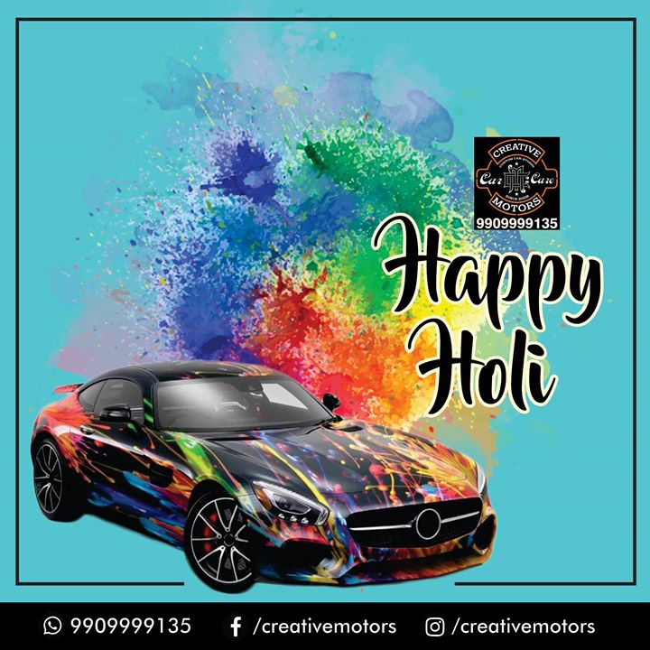 Wishing you a Happy & a Colorful Holi...