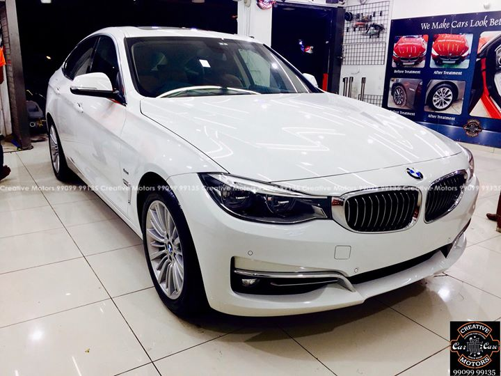#Bmw #GT got Ceramic Glass Coated  #Benefits:  - Scratch Resistant  - Easy to Clean & Maintain  - High Glossy Shine  - Highly Durable   Address:  Creative Motors Ahmedabad    GF 1,2 Urvashi Complex,   Nr. Pantaloons (CG Road) Mithakhali Six Roads,  Law Garden Road,  Navrangpura,  Ahmedabad          Call or whats App: 9909999135   #creativemotors #bikes #bikers  #microdetailing #ceramiccoatings #coatings  #glasscoatings #waterrepellant #scratchproof #supercars #Rajkot #ahmedabad #qualityovereverything