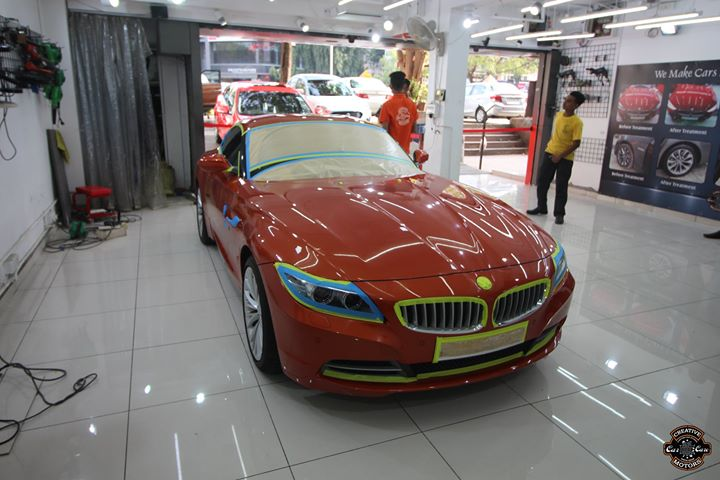 #Bmw #Z4 got Ceramic Coated at Creative Motors Ahmedabad -  Mithakhali   #Benefits:  - Scratch Resistant  - Easy to Clean & Maintain  - High Glossy Shine  - Highly Durable  Address:  Creative Motors Ahmedabad  GF 1,2 Urvashi Complex, Nr. Pantaloons (CG Road) Mithakhali Six Roads, Law Garden Road, Navrangpura, Ahmedabad  Call or whats App: 9909999135  #creativemotors #bikes #bikers #microdetailing #ceramiccoatings #coatings #glasscoatings #waterrepellant #scratchproof #supercars #Rajkot #ahmedabad #qualityovereverything #bmwz4