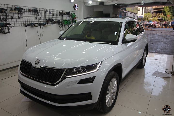 Creative Motors,  Skoda, Kodiaq, Benefits:, creativemotors, cardetailing, ceramiccoating, glasscoating, paintprotection, Qualityovereverything, CGRoad, Ahmedabad, Skoda, Kodiaq, India