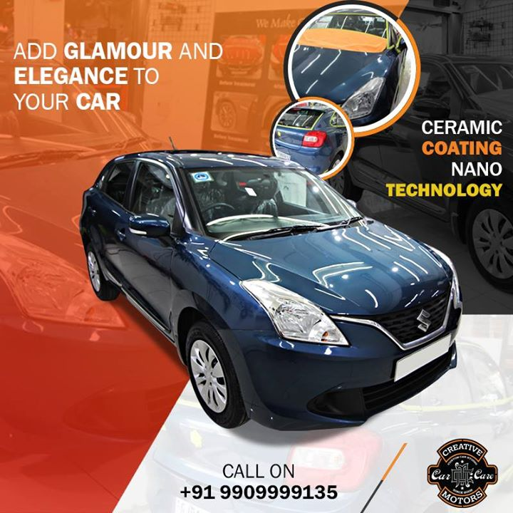 Is your car feeling gloomy or dull ??  Don't worry bring it to Creative Motors Ahmedabad, we'll make it shinny and blingy with our #Ceramic #Coating...  ☎️ Call or Whats App - +91 99099 99135  Address: Creative Motors Ahmedabad Gf - 1,2 Urvashi Complex, Mithakhali Six Roads, Ahmedabad  #carservices #carspa #carwash #creative #motors #details #detailsmatter #luxury #luxuriouscars #shine #automobile #standout #live #pictures #reality #ahmedabad #carlove #speed #clean #thrill #exquisite