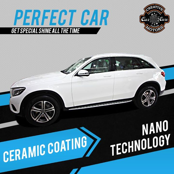 Ceramic Coating brings back the new shine to your car..   Get it done only at Creative Motors Ahmedabad..  Ceramic Coating Gives Protection against.. #minor #scratches, #rock #chips, #oxidation, #acid #rain, #bird #droppings and #bugs  #specialistforceramiccoating  ☎️ Call or Whats App - +91 99099 99135  Address: Creative Motors Ahmedabad Gf - 1,2 Urvashi Complex, Mithakhali Six Roads, Ahmedabad  #carservices #carspa #carwash #creative #motors #details #detailsmatter #luxury #luxuriouscars #shine #automobile #standout #live #pictures #reality #ahmedabad #carlove