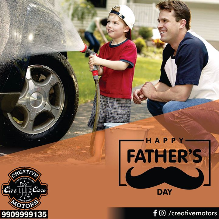 Tag your Father and let him know how Special he is.... #HappyFathersDay  #Ahmedabad #Rajkot #Cardetailing #CarCare #CeramicCoating #Automobilecare #Detailingservices #BestInAhmedabad #India #Likes #Milestones