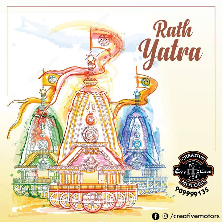 May Lord Jagannath bless you with peace, prosperity and happiness .. Happy Rath Yatra !