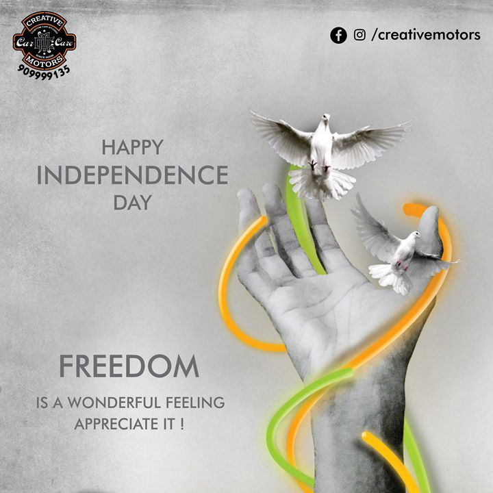 With freedom in the mind, faith in the words, pride in our souls. Let's salute the nation on Independence Day!  #HappyIndependenceDay #INDIA